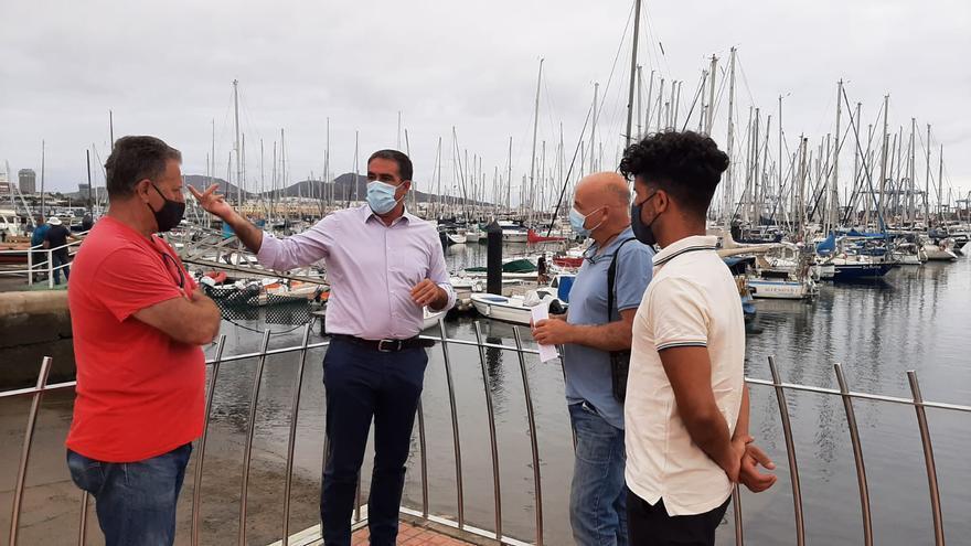 Francis Candil solicita el acceso al mar a las 17.800 licencias de pesca recreativa y náutica