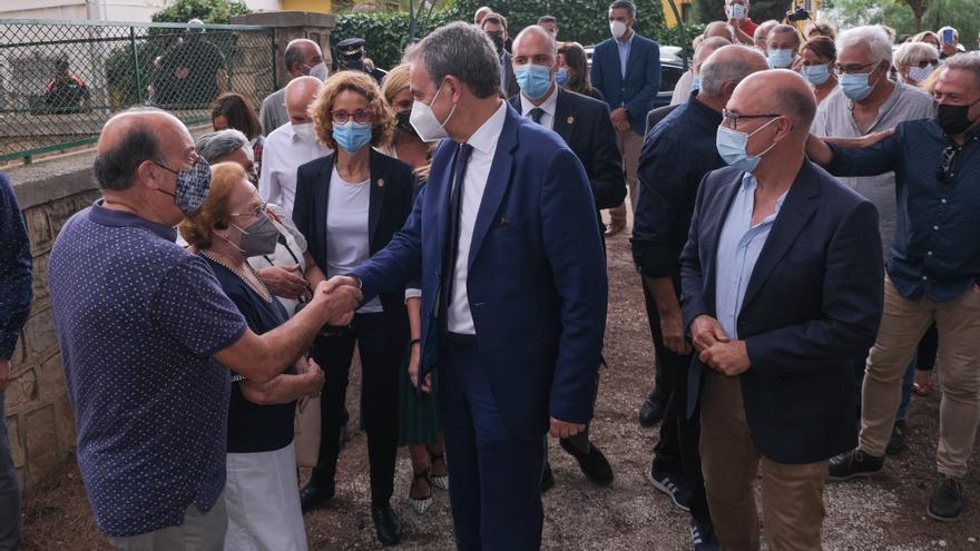 Visita del expresidente José Luis Rodríguez Zapatero al Fondo de Monóvar, última sede del gobierno Republicano