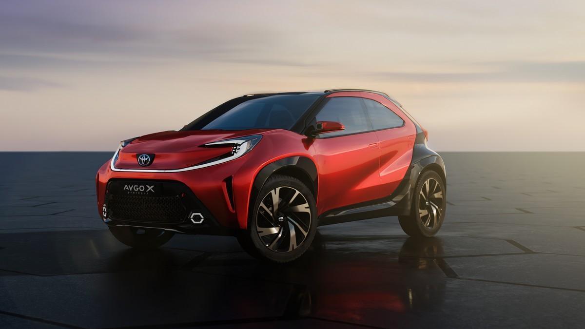 Toyota desvela el Aygo X Prologue, la reinvención de los utilitarios