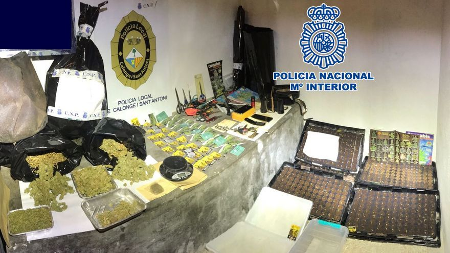 Detenen un vigilant de seguretat per tenir marihuana en una masia ocupada de Calonge