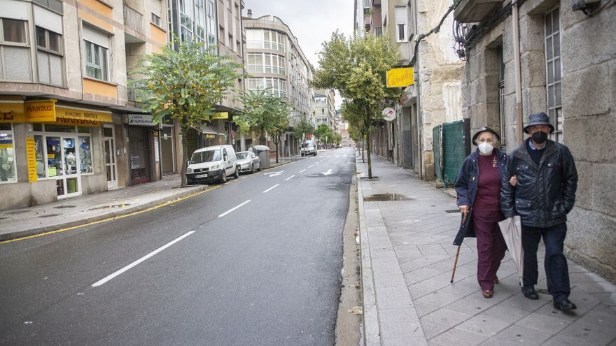 Ourense sale de la alerta roja