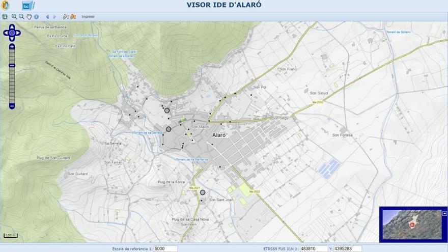 TIC Mallorca ha desarrollado un geoportal para 16 municipios