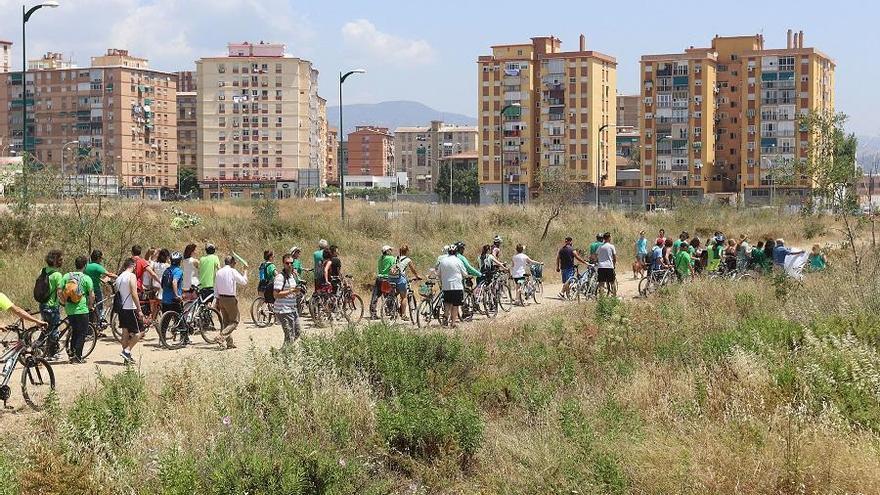 Nueve partidos de Málaga apoyan un Bosque Urbano en los terrenos de Repsol