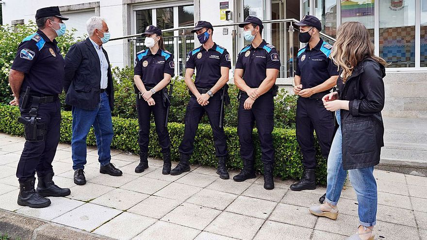 Poio refuerza su Policía Local con cuatro auxiliares para intensificar los controles