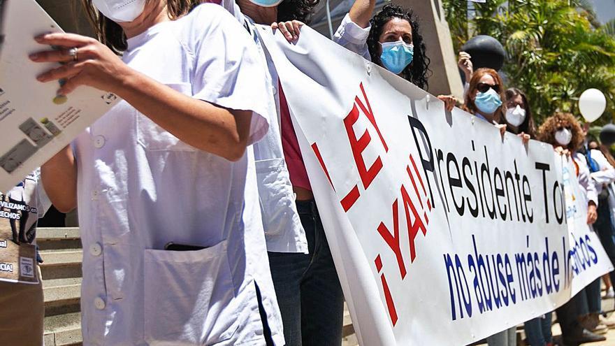 El Estado cambiará la ley para hacer fijo al personal sanitario temporal en Canarias