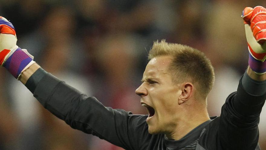 El Barcelona confirma la lesión de Ter Stegen y Arthur