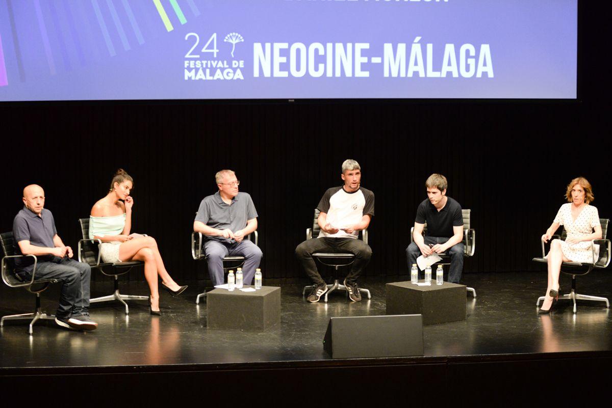 Presentación de 'Las Leyes de la frontera' en el Festival de Cine de Málaga