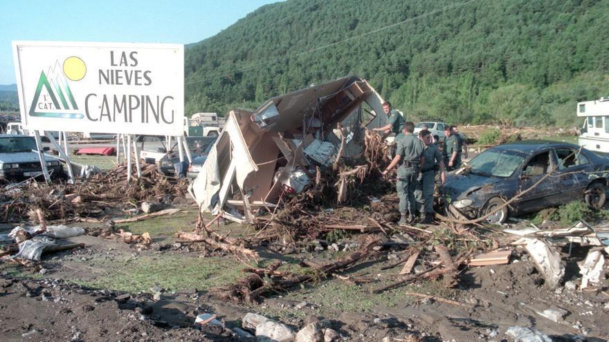 La tragedia de Biescas cumple un cuarto de siglo
