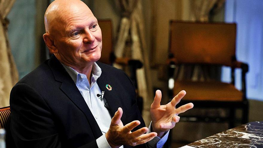 Hoffman: «L'èxit del MWC serà obrir i demostrar que la covid no ens vencerà»