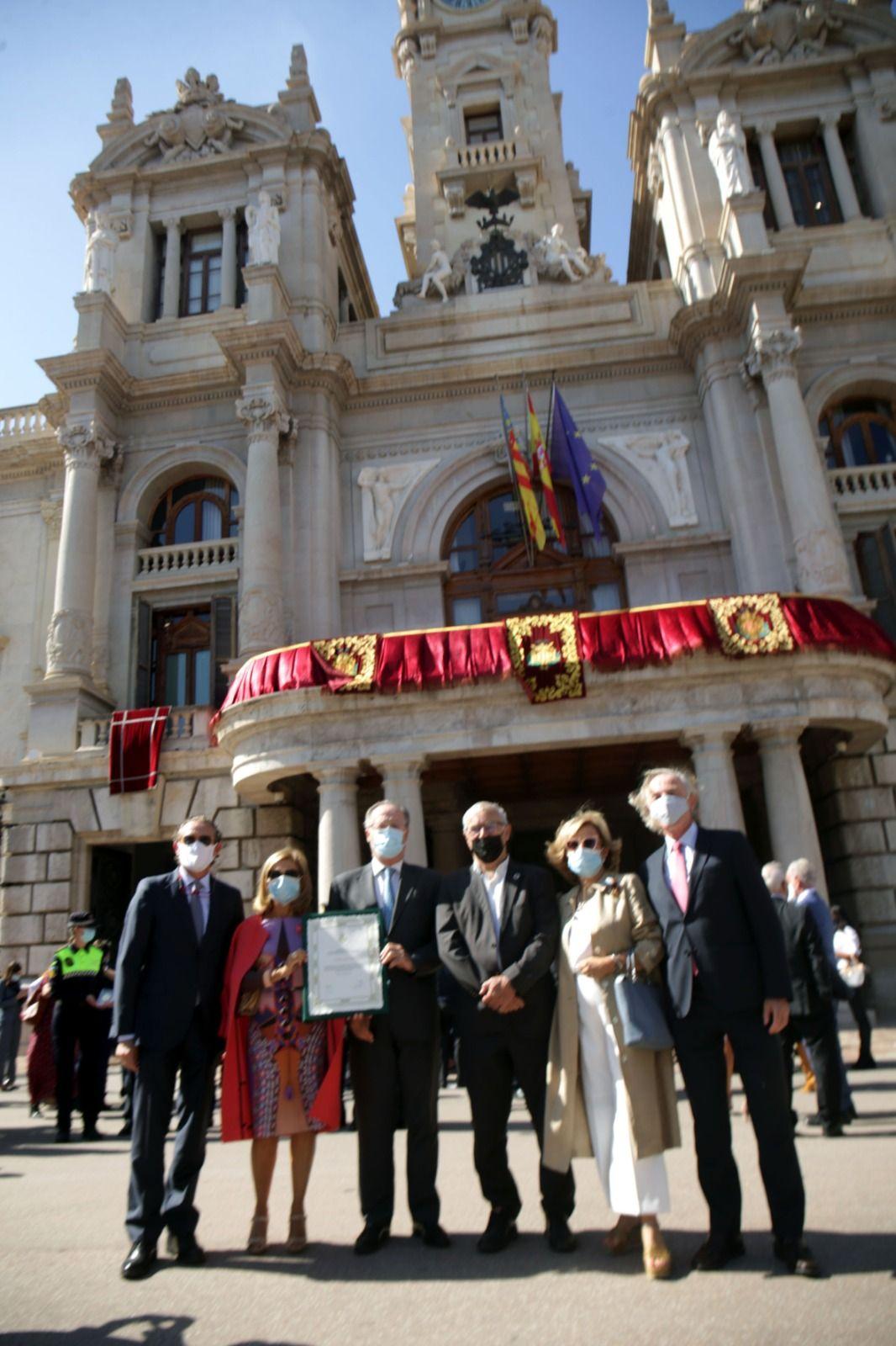Entrega de las Distinciones y Honores del Ayuntamiento de València 2020