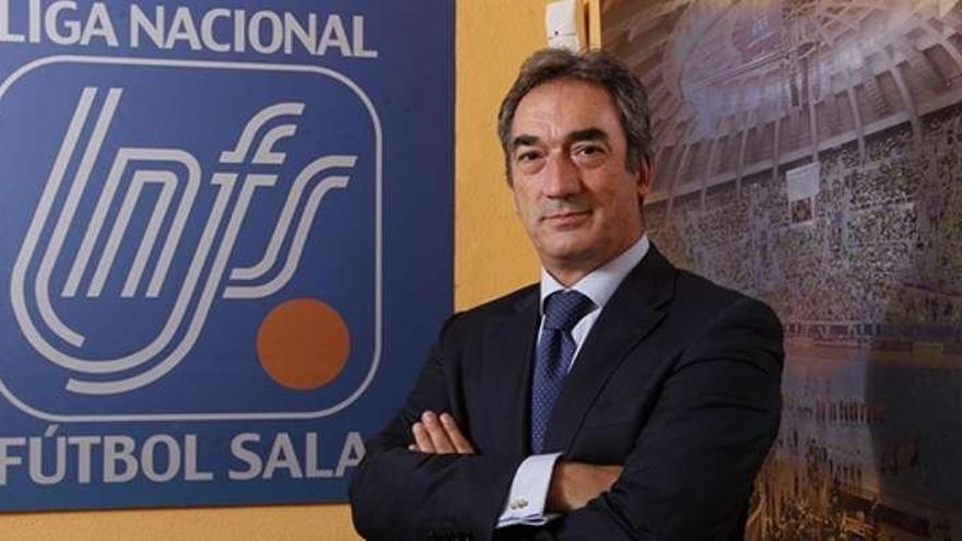 Javier Lozano seguirá como presidente de la LNFS al ser el único candidato
