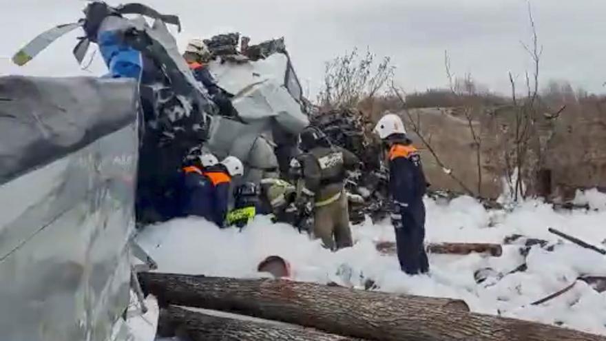 Se estrella en Rusia un avión con 20 paracaidistas a bordo