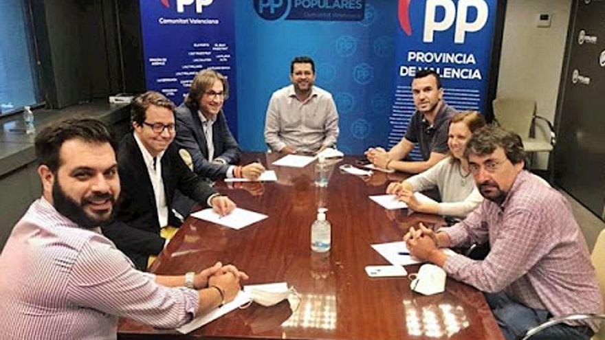 El congreso provincial tensa el grupo popular en la diputación