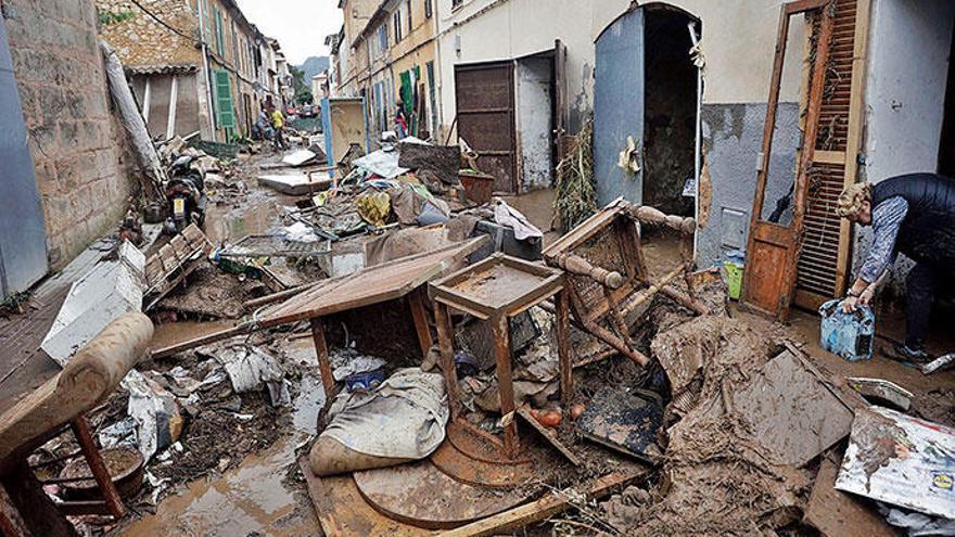 Sant Llorenç ein Jahr nach der Flut