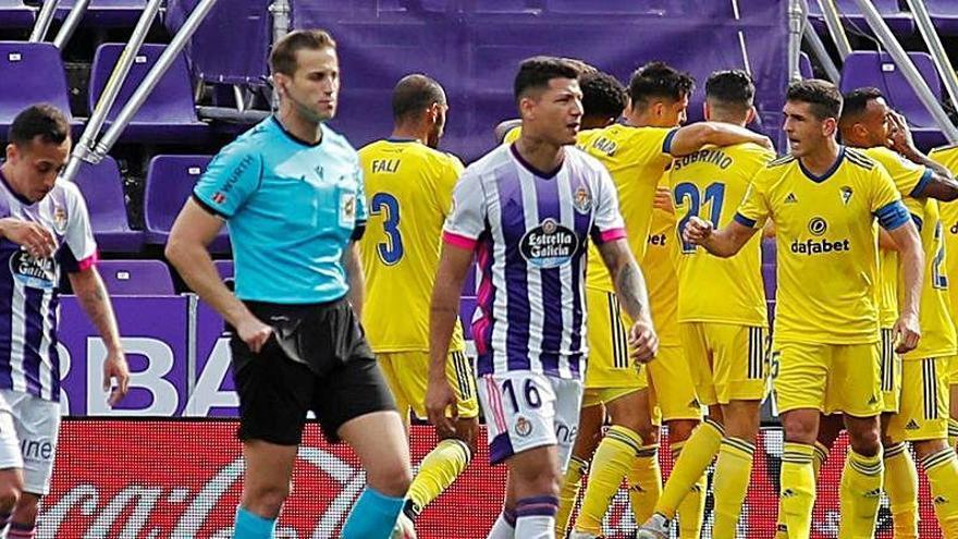 Juan Cala y los motivos de su gestual celebración en el gol ante el Valladolid