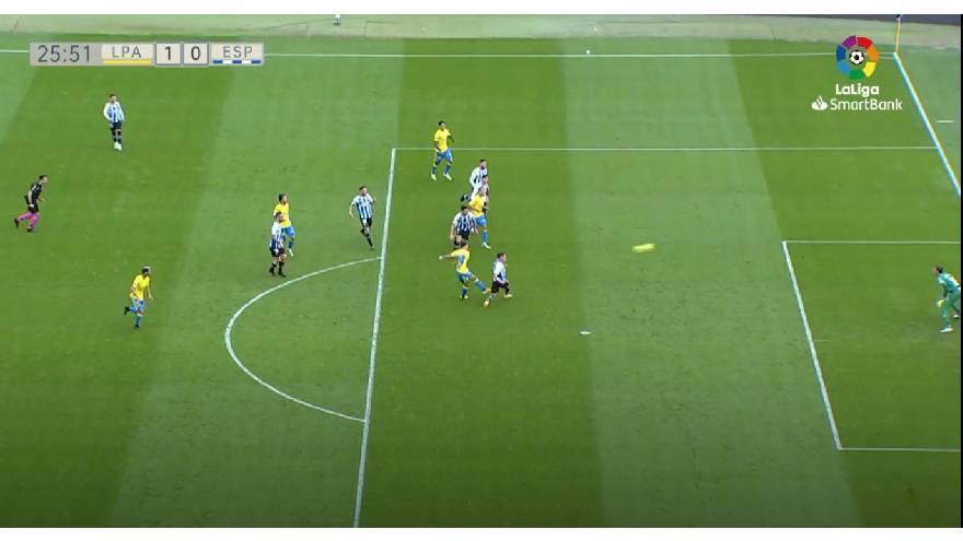 Vídeos del gol, jugadas y resumen del partido UD Las Palmas 1 - 0 Espanyol