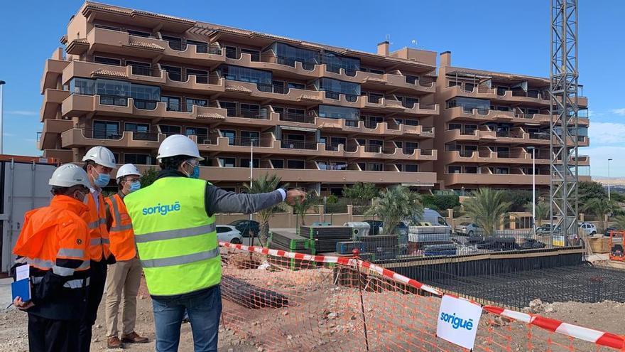 Arrancan las obras del nuevo depósito de agua de Arenales del Sol