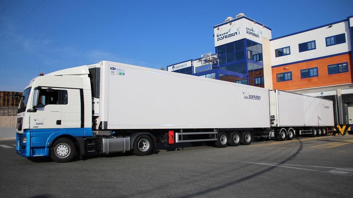 Disfrimur contará con el camión frigorífico más grande de España