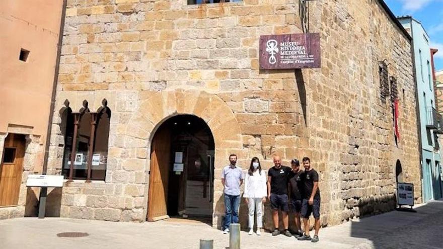 PIlar Farrés dissenya la nova retolació del Museu d'Història Medieval i el Convent de Santa Clara de Castelló