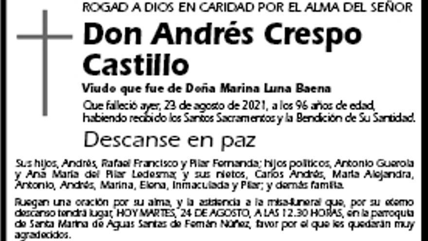 Andrés Crespo Castillo