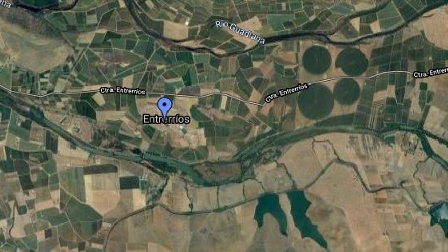 Fallece ahogado un vecino de Villanueva de la Serena en el canal de Entrerríos