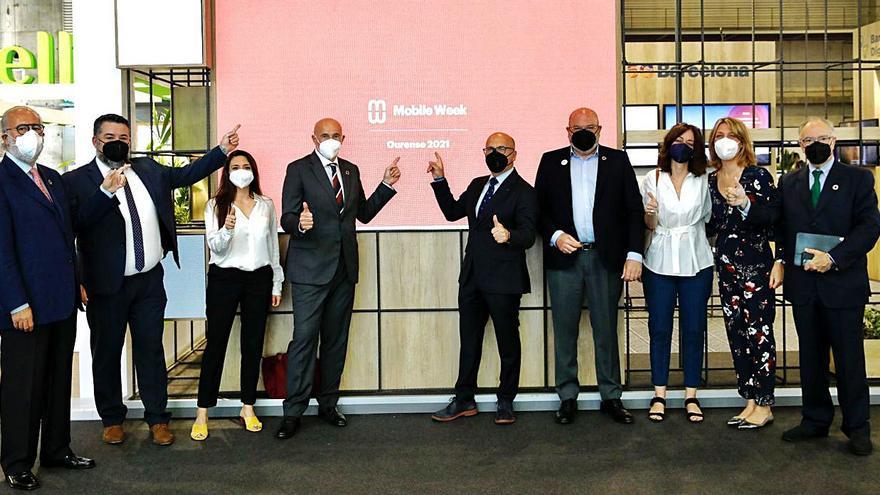 Ourense acogerá hasta 2023 el 'Mobile Week', evento sobre el sector tecnológico