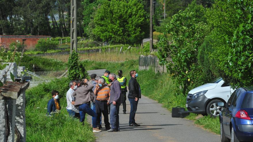 Muere atrapado por la máquina que conducía un octogenario de Pontevedra asentado en Meis