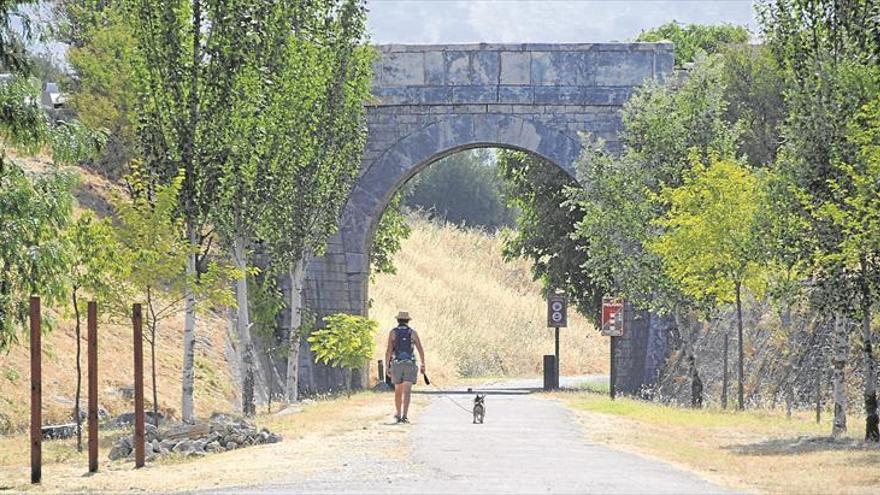 Córdoba dispone de 133 kilómetros de vías verdes en 6 rutas por enlazar