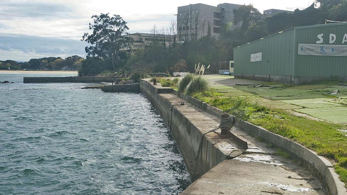 Solar de los antiguos Astilleros Valiña que acogerá la base náutica municipal. |   // J. ROLLER