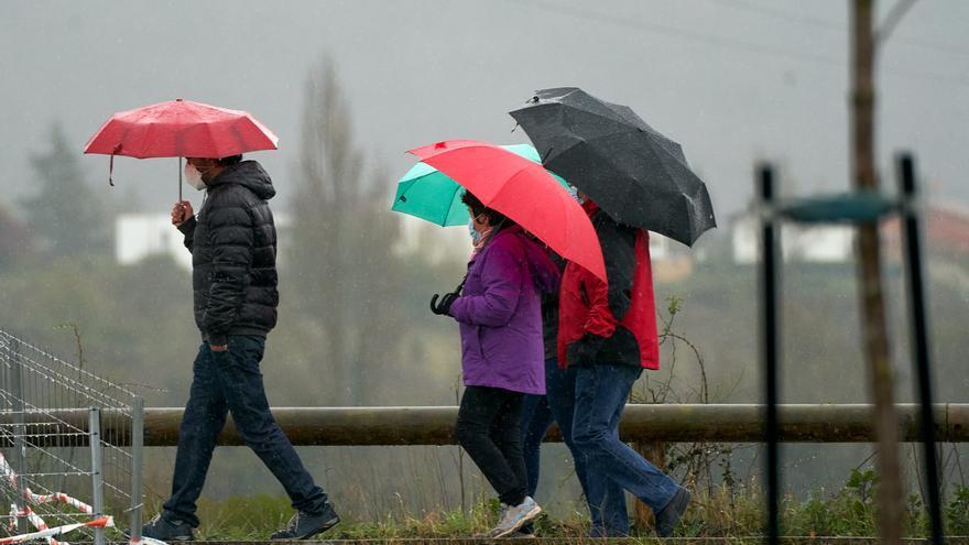 Aviso amarillo por lluvias este lunes en la Serranía de Ronda