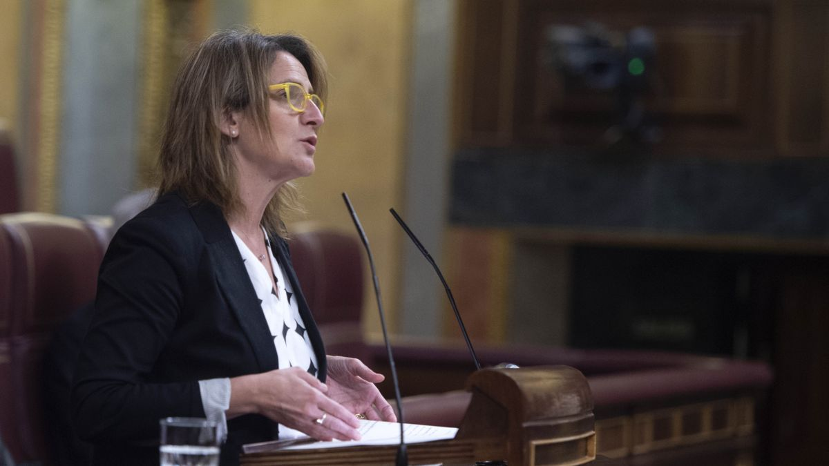 La vicepresidenta cuarta y ministra de Transición Ecológica y Reto Demográfico, Teresa Ribera.