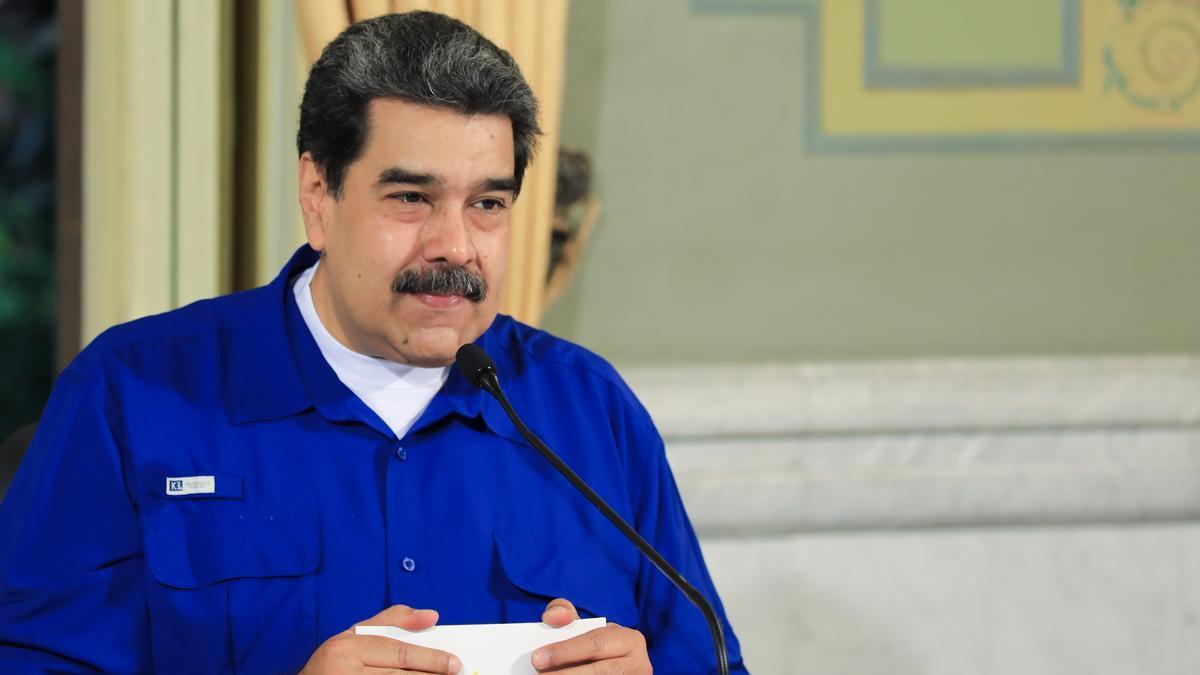 El presidente de Venezuela, Nicolás Maduro..