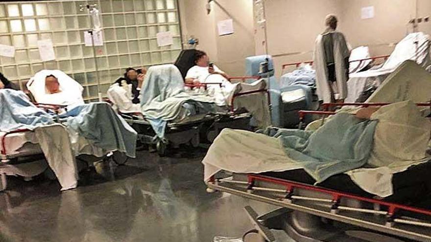 39 pacientes permanecen todavía sin cama en los hospitales de Mallorca