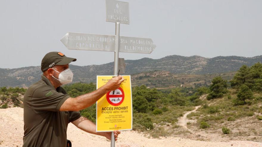 El Govern amplia el llistat de municipis en alerta màxima per risc d'incendi:  ja són un total de 333 poblacions en nivell 3 del Pla Alfa