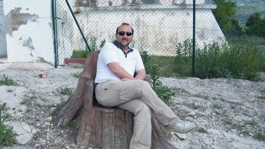 El arqueólogo eldense Paco Tordera en el recuerdo