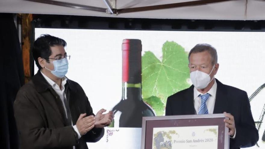 Bodegas Marba recibe el Premio  San Andrés 2020 en un atípico descorche