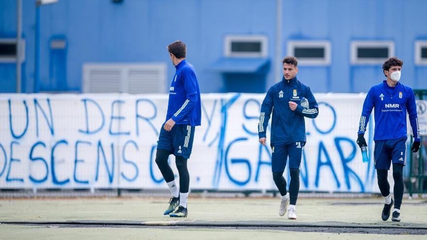 """Tejera, capitán del Real Oviedo: """"Nadie en el equipo quiere volver a pasar por lo del año pasado"""""""