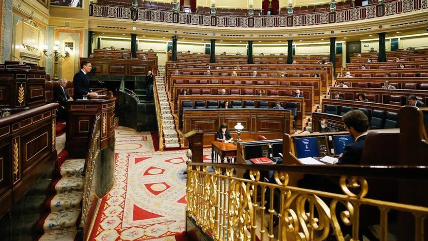 Sánchez salva l'última pròrroga de l'estat d'alarma amb suport de la majoria absoluta al Congrés