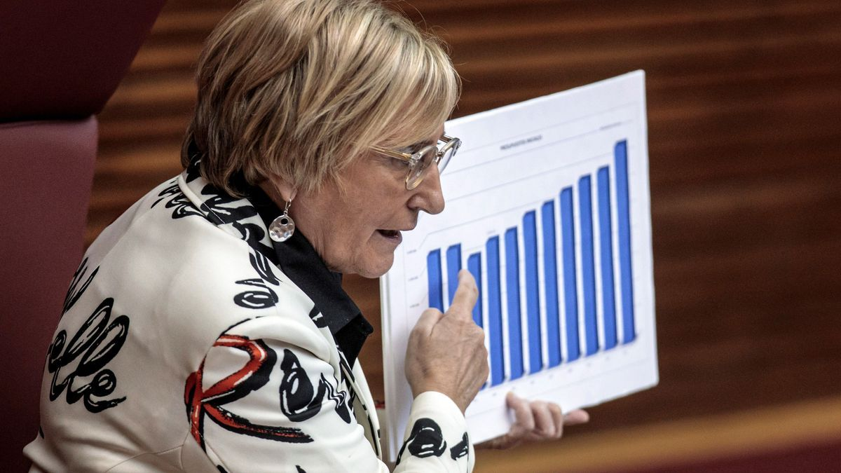 Barceló, durante la presentación de los presupuestos de su departamento