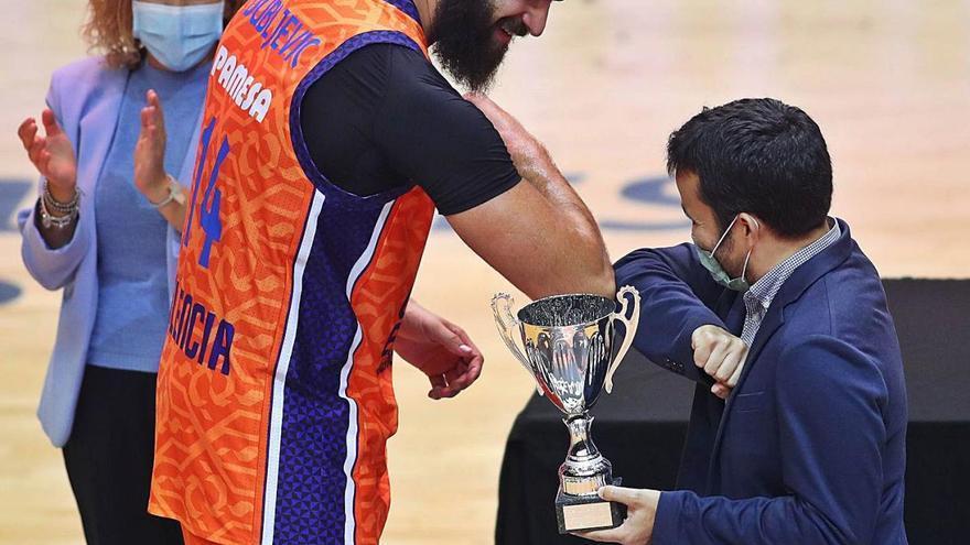 El Valencia Basket exhibe poderío europeo