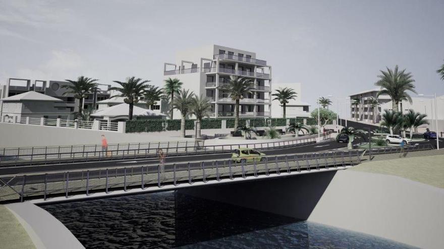 Luz verde a contratar de nuevo la construcción del puente de Triana de Xàbia
