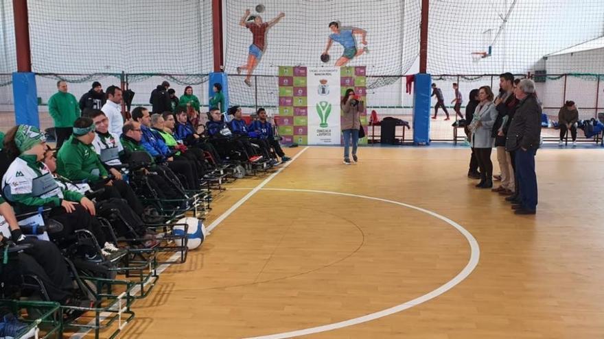 El club cordobés los Atómicos participa en unas jornadas de deporte adaptado en Mancha Real