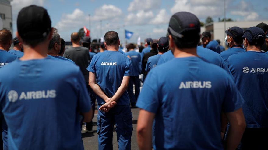 Airbus hará 283 despidos en Illescas, 455 en Getafe y 151 en Puerto Real