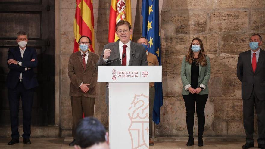 Puig anuncia 340 millones en ayudas para el turismo, el ocio, la hostelería y la cultura con el Plan Resiste