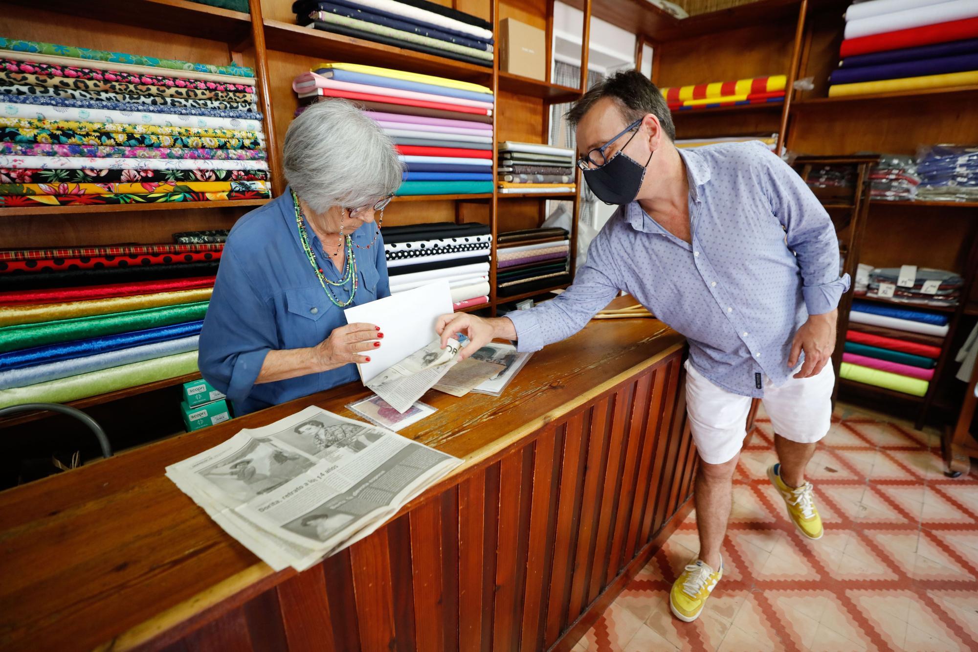 Teixits Cardona: 95 años de historia de Ibiza entre telas