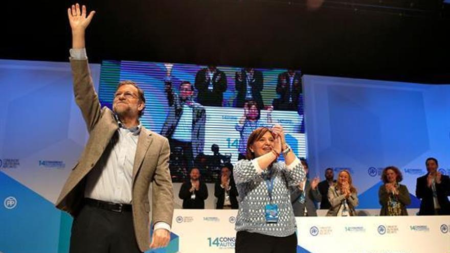 Rajoy asegura que el PP está preparado para ganar en la Comunitat Valenciana