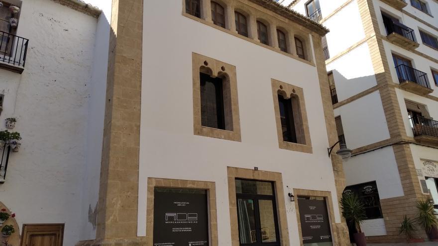 Nueva vida para un palacio gótico del siglo XV de Xàbia