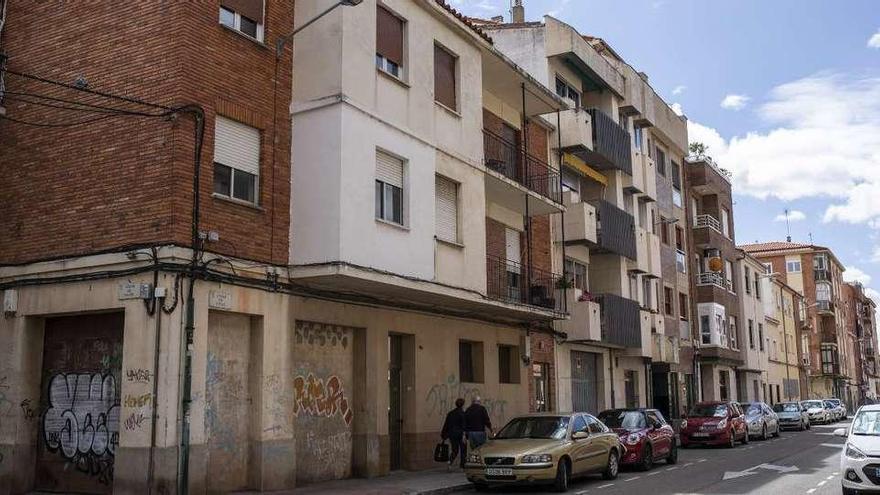 Inmueble número 17 de la calle Cuba, lugar donde se desarrollaron los incidentes.