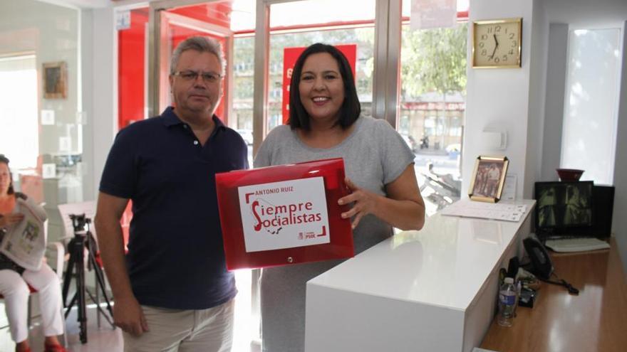 Antonio Ruiz y Teba Roldán ya han entregado sus avales