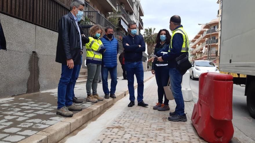 """Hila defiende """"la mejora"""" que supondrá el eje cívico de Nuredduna ante la degradación de Pere Garau"""